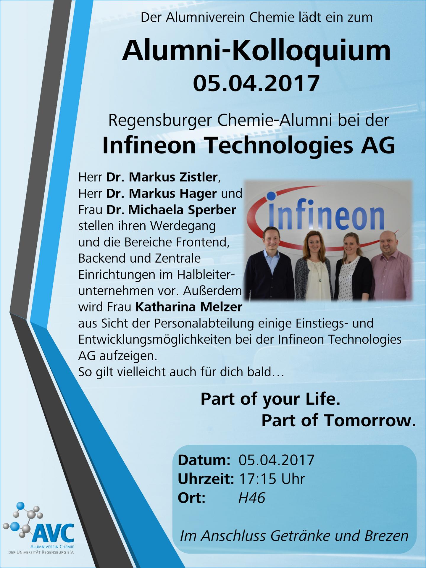Alumnikolloquium 2017 AVC Regensburg